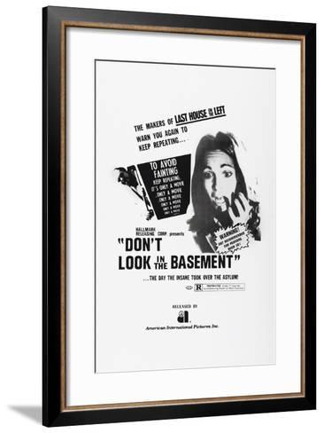 Don't Look in the Basement, 1973--Framed Art Print