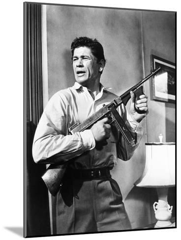 Machine-Gun Kelly, Charles Bronson, 1958--Mounted Photo