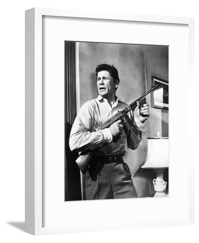 Machine-Gun Kelly, Charles Bronson, 1958--Framed Art Print