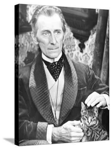 I, Monster, Peter Cushing, 1971--Stretched Canvas Print