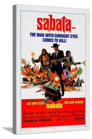 Sabata, (Aka Ehi Amico... C'E Sabata, Hai Chiuso!), 1969--Stretched Canvas Print