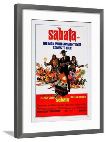 Sabata, (Aka Ehi Amico... C'E Sabata, Hai Chiuso!), 1969--Framed Art Print