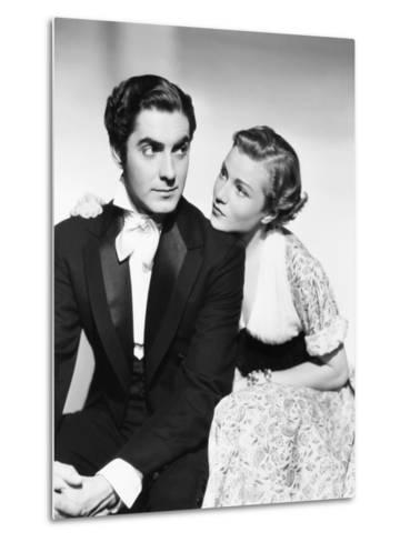 Suez, from Left: Tyrone Power, Annabella, 1938--Metal Print