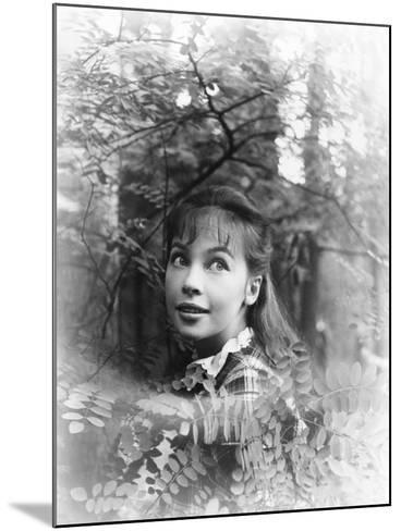 Gigi, Leslie Caron, 1958--Mounted Photo