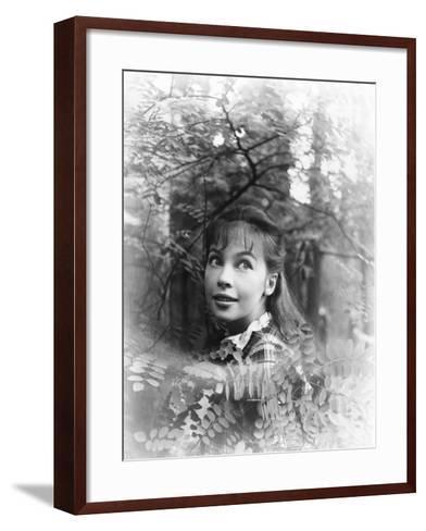 Gigi, Leslie Caron, 1958--Framed Art Print