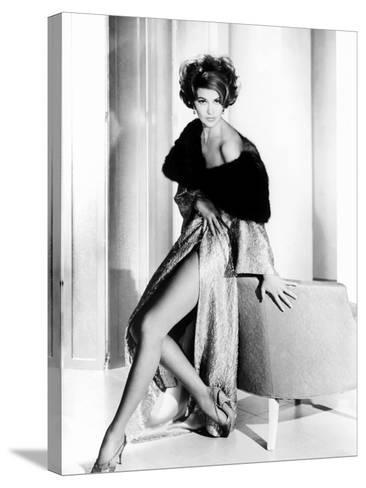 Cyd Charisse, Ca. Early 1960s--Stretched Canvas Print
