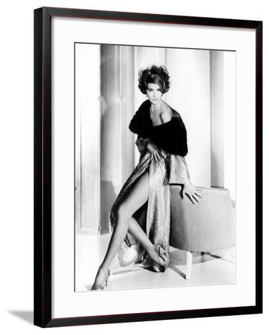 Cyd Charisse, Ca. Early 1960s--Framed Art Print