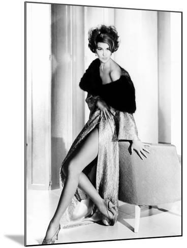 Cyd Charisse, Ca. Early 1960s--Mounted Photo