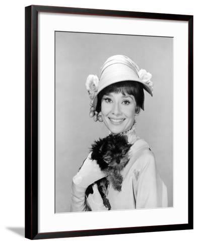 My Fair Lady, Audrey Hepburn, 1964--Framed Art Print