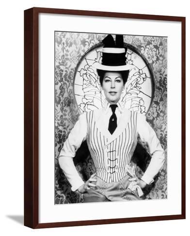 55 Days at Peking, Ava Gardner, 1963--Framed Art Print