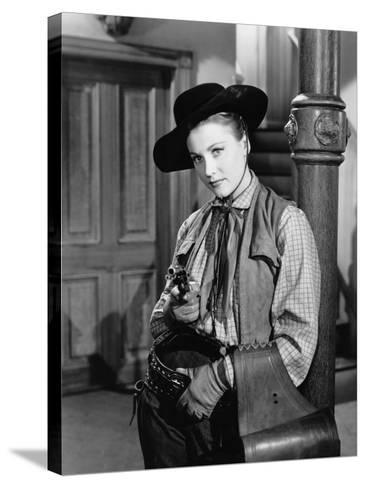 Return of the Bad Men, Anne Jeffreys, 1948--Stretched Canvas Print
