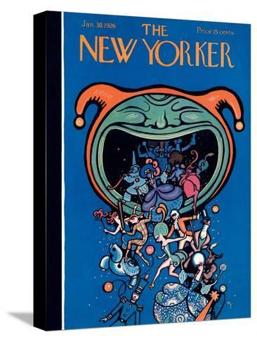 The New Yorker Cover - January 30, 1926-Rea Irvin-Stretched Canvas Print