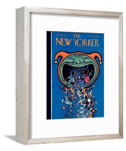 The New Yorker Cover - January 30, 1926-Rea Irvin-Framed Art Print