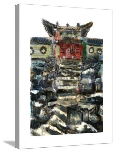 Cg Painting the Summer Palace-jim80-Stretched Canvas Print
