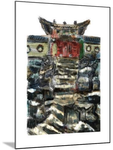 Cg Painting the Summer Palace-jim80-Mounted Art Print