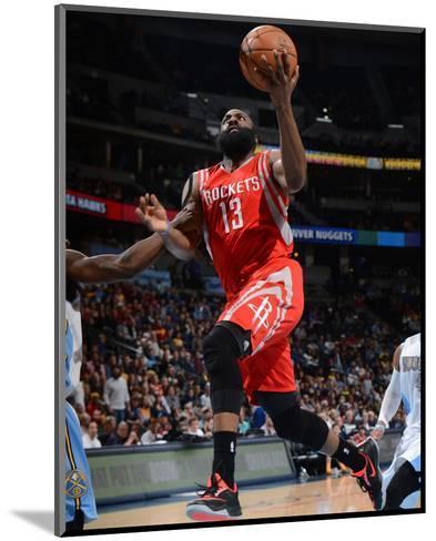 Houston Rockets v Denver Nuggets-Garrett Ellwood-Mounted Photo