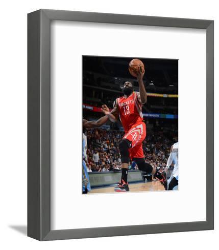 Houston Rockets v Denver Nuggets-Garrett Ellwood-Framed Art Print