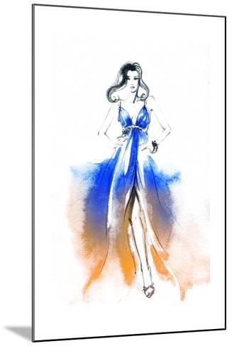 Woman in Dress-Anna Ismagilova-Mounted Art Print
