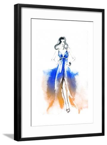 Woman in Dress-Anna Ismagilova-Framed Art Print