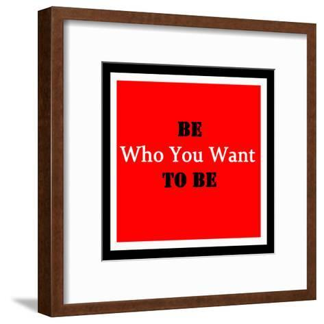 Inspirational and Motivational Quote. Effects Poster, Frame, Col- malydesigner-Framed Art Print