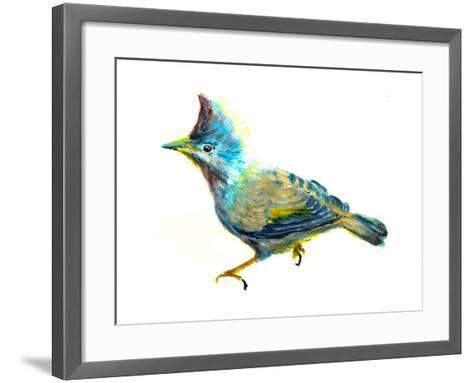 Oil Painting Bird-jim80-Framed Art Print