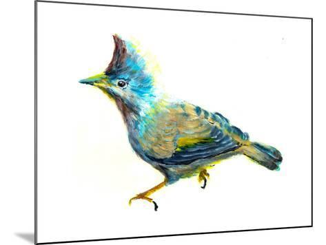 Oil Painting Bird-jim80-Mounted Art Print