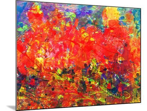 Childs Abstract Painting-Alexey Kuznetsov-Mounted Art Print