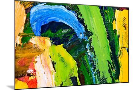 Abstract Background-Suchota-Mounted Art Print