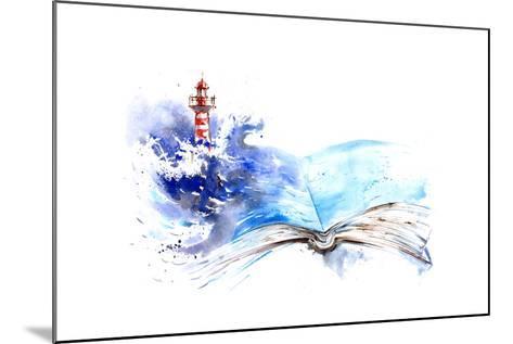 Lighthouse-okalinichenko-Mounted Art Print