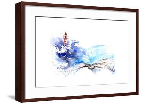 Lighthouse-okalinichenko-Framed Art Print