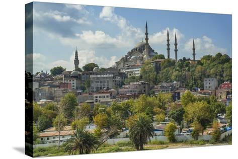 Suleymaniye Cami, Suleyman Mosque-Guido Cozzi-Stretched Canvas Print