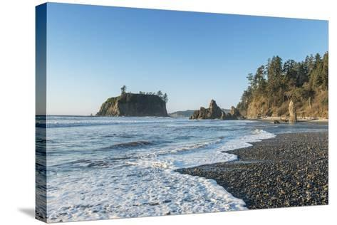 Ruby Beach-Rob Tilley-Stretched Canvas Print
