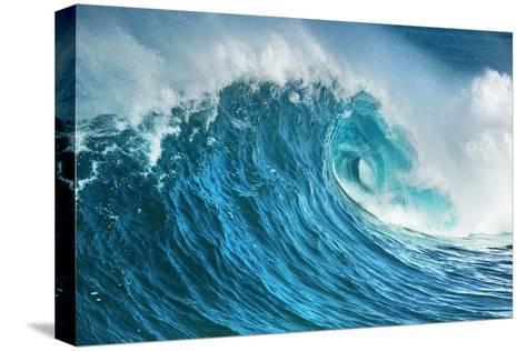 Wave Impression-Frank Krahmer-Stretched Canvas Print