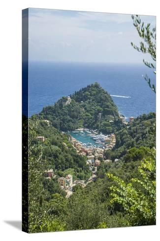 View of Portofino-Guido Cozzi-Stretched Canvas Print