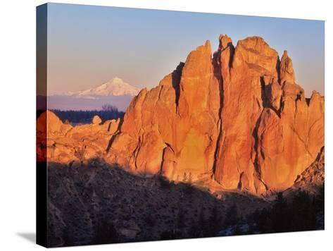 Smith Rock, Oregon-Steve Terrill-Stretched Canvas Print