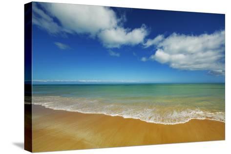 Beach Impression-Frank Krahmer-Stretched Canvas Print