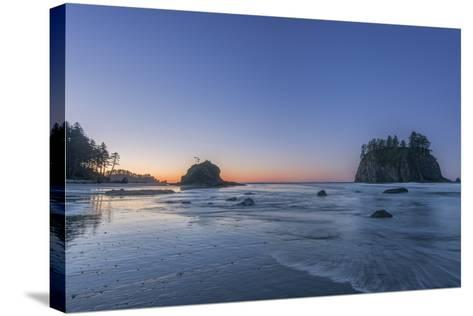 Second Beach Dawn-Rob Tilley-Stretched Canvas Print