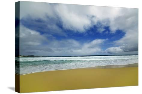 Beach Impression at Injidup-Frank Krahmer-Stretched Canvas Print
