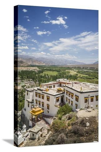 Spituk Monastery, near Leh-Guido Cozzi-Stretched Canvas Print