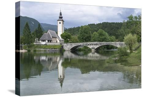 Church of St. John the Baptist-Rob Tilley-Stretched Canvas Print