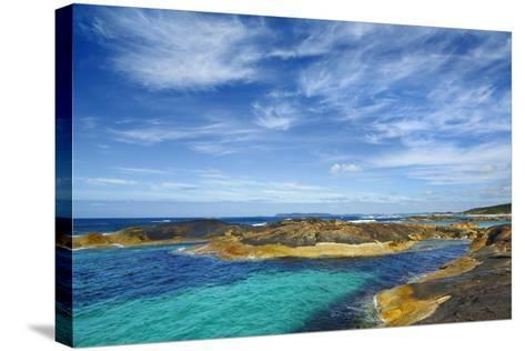 Ocean Coast near Greens Pool-Frank Krahmer-Stretched Canvas Print