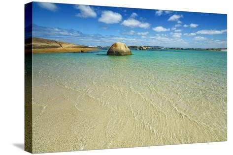 Ocean Coast at Greens Pool-Frank Krahmer-Stretched Canvas Print