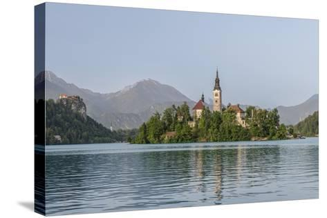 Bled Island-Rob Tilley-Stretched Canvas Print