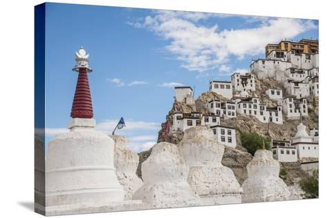 Thikse Monastery-Guido Cozzi-Stretched Canvas Print