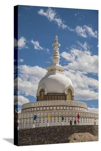 Shanti Stupa-Guido Cozzi-Stretched Canvas Print