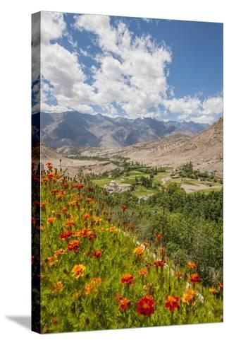 View from Likir Monastery-Guido Cozzi-Stretched Canvas Print