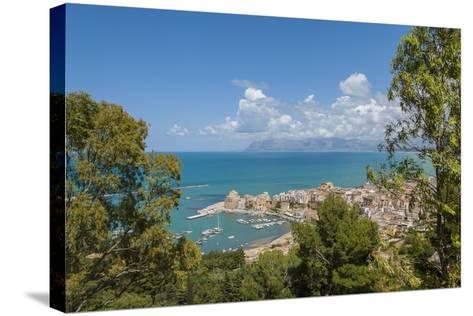 View of Castellammare Del Golfo-Guido Cozzi-Stretched Canvas Print