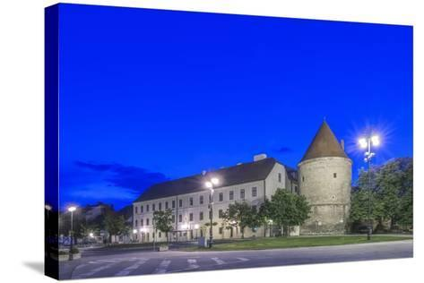 Zagreb Cathedral Fortification at Dawn-Rob Tilley-Stretched Canvas Print