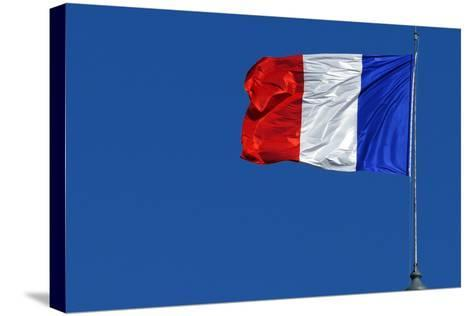 French Flag-Hans Peter Merten-Stretched Canvas Print