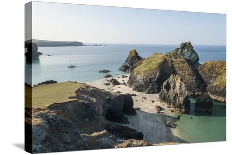 Lizard Peninsula, View of Kynance Cove-Guido Cozzi-Stretched Canvas Print
